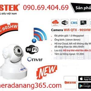 QUESTEK – Camera IP không dây Questek ECO-905HW: Chuẩn HD720 (1.0 Mp) GIÁ GỐC